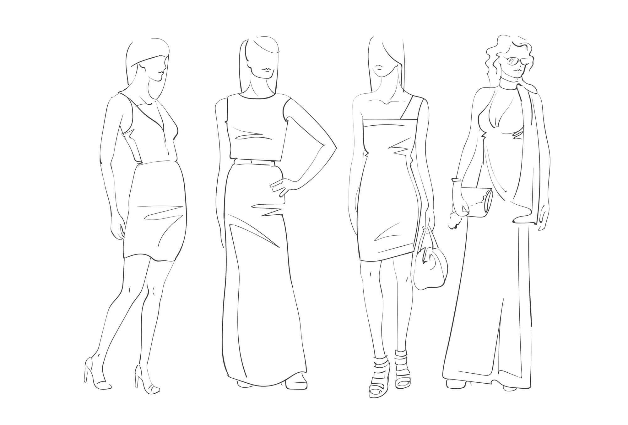 毎回違うドレスにチャレンジ可能