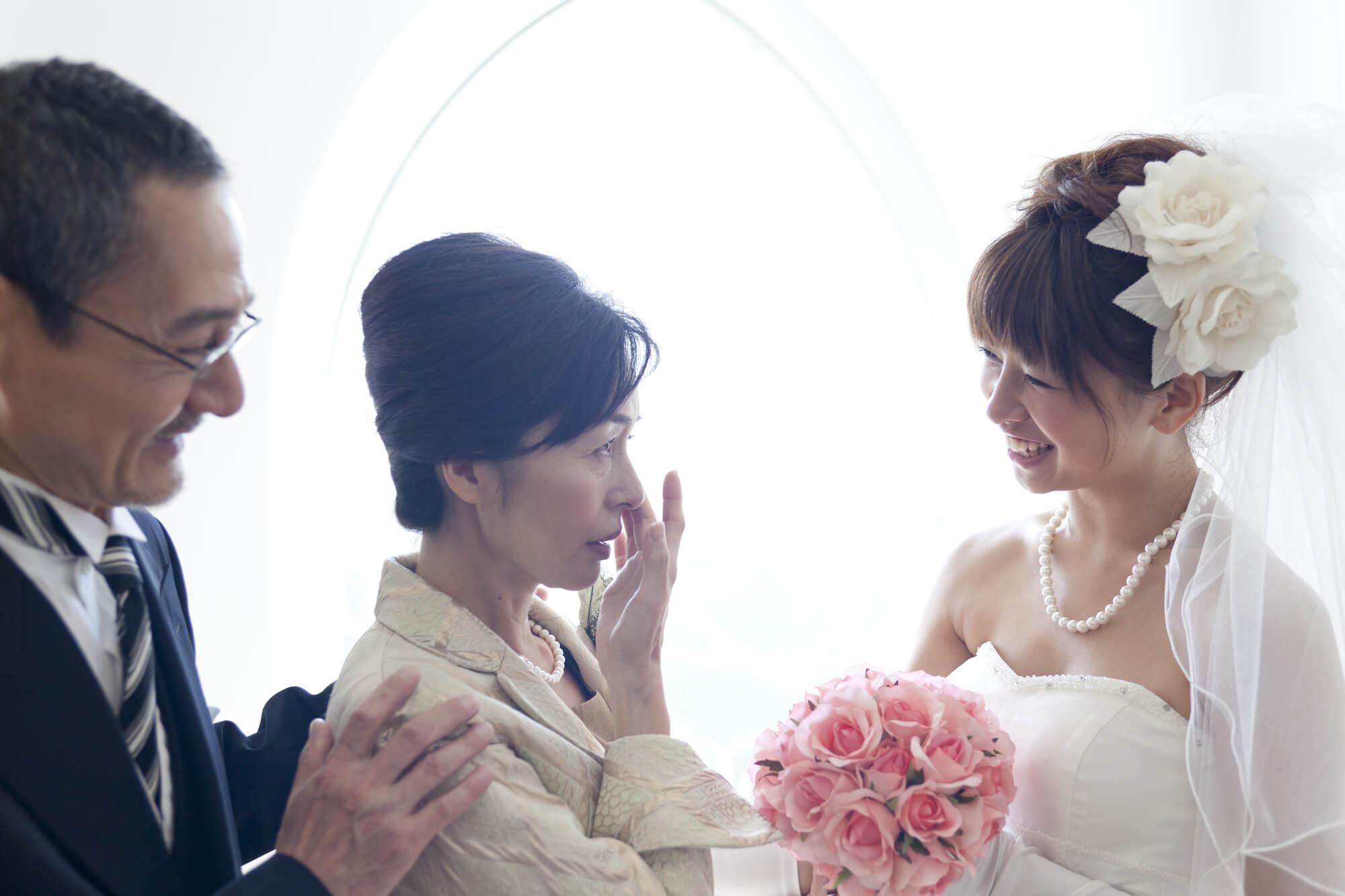 親族の結婚式に相応しいレンタルドレス 50代「叔母(伯母)」や「母親」向けドレス
