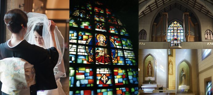 カトリック布池教会内聖ヨゼフ館