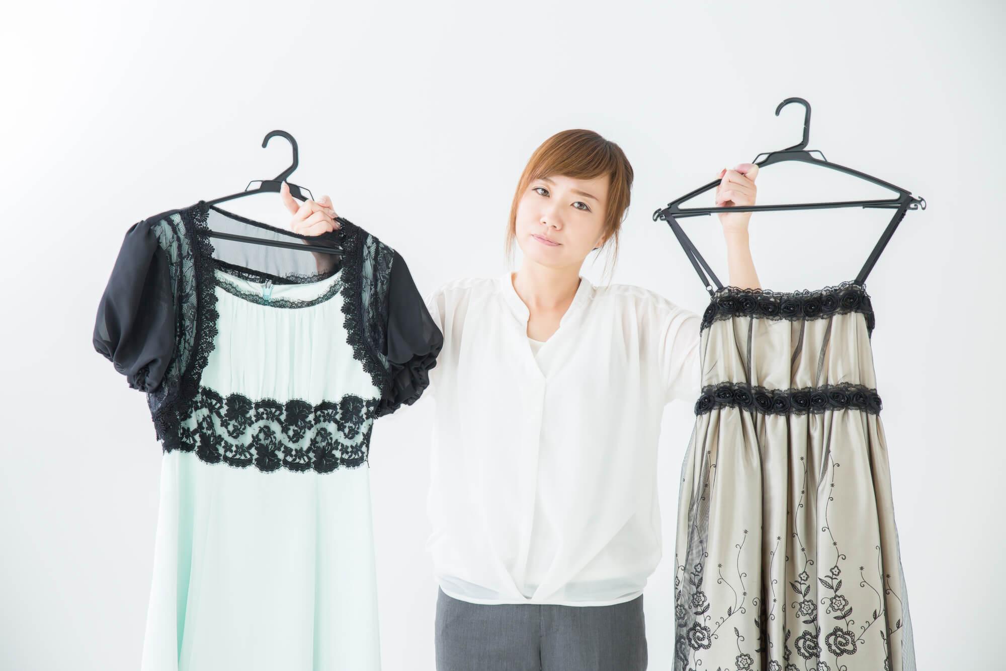 ネットレンタルで人気のドレスセット
