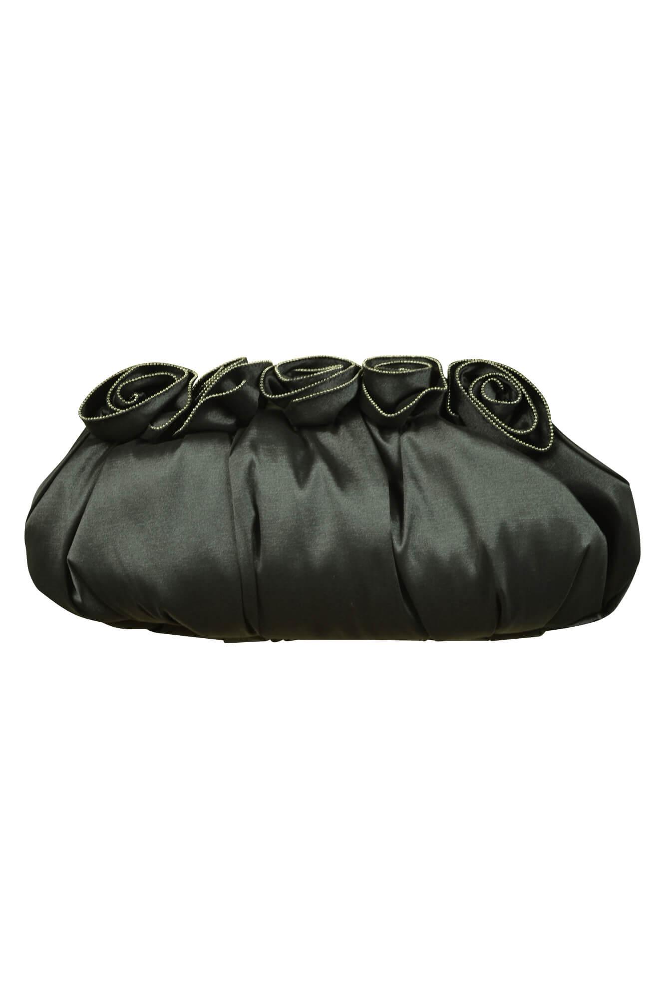 グレースコンチネンタル (GRACE CONTINENTAL)フラワーコサージュブラックバッグ