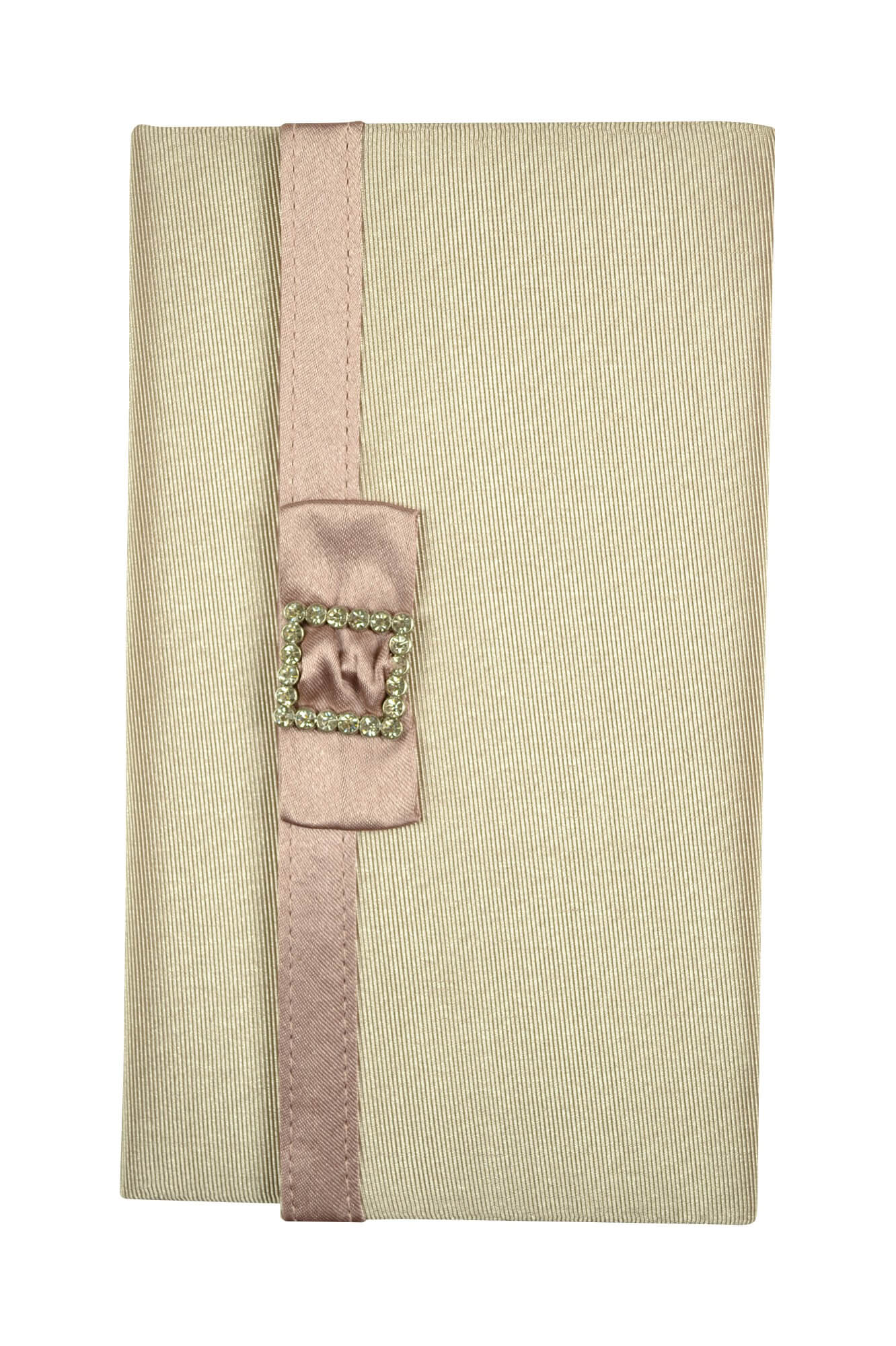 バサージュ ミニョン(passage mignon) ピンクシンプルクリスタル袱紗