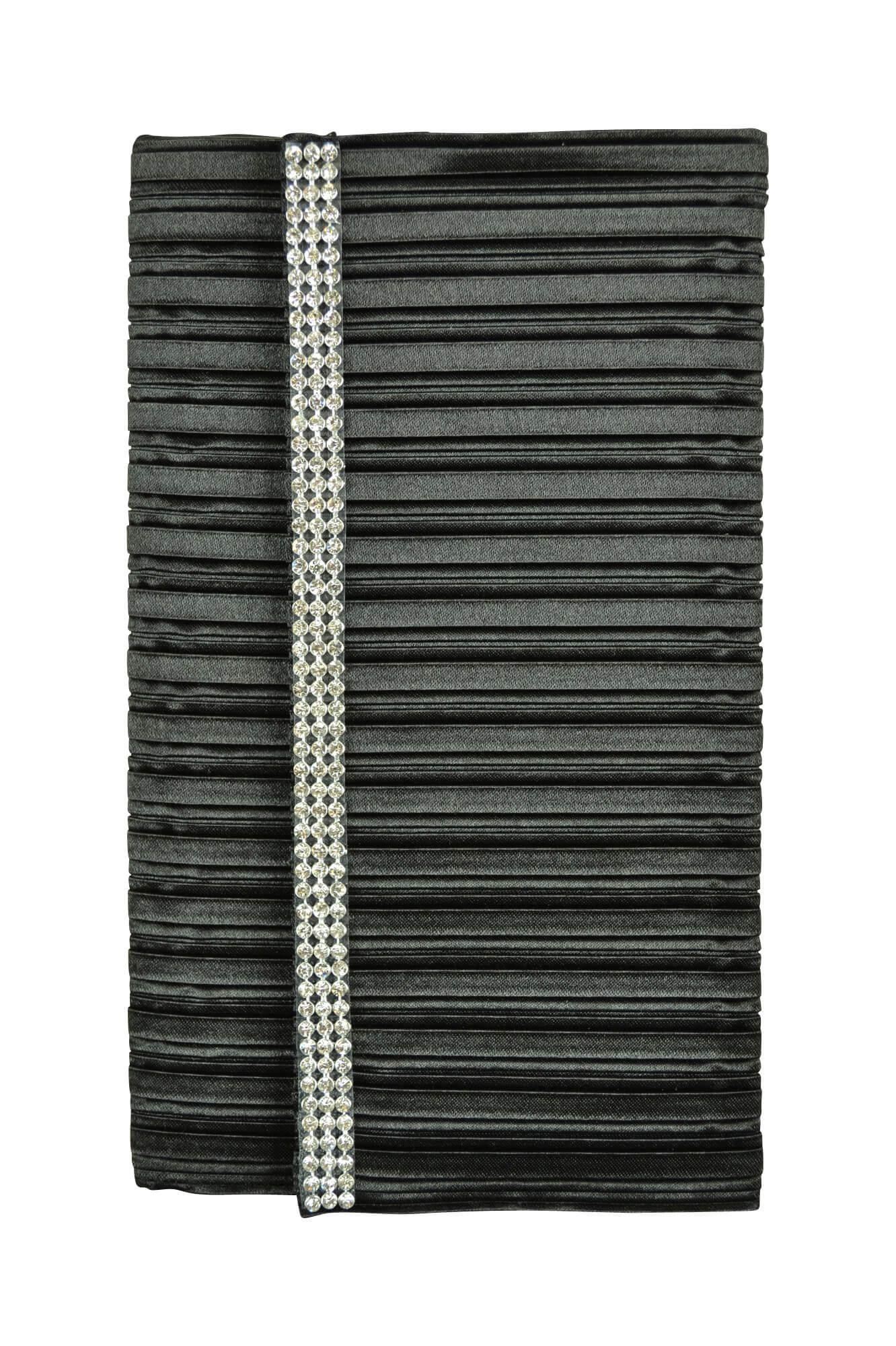 バサージュ ミニョン(passage mignon) ブラックプリーツ袱紗