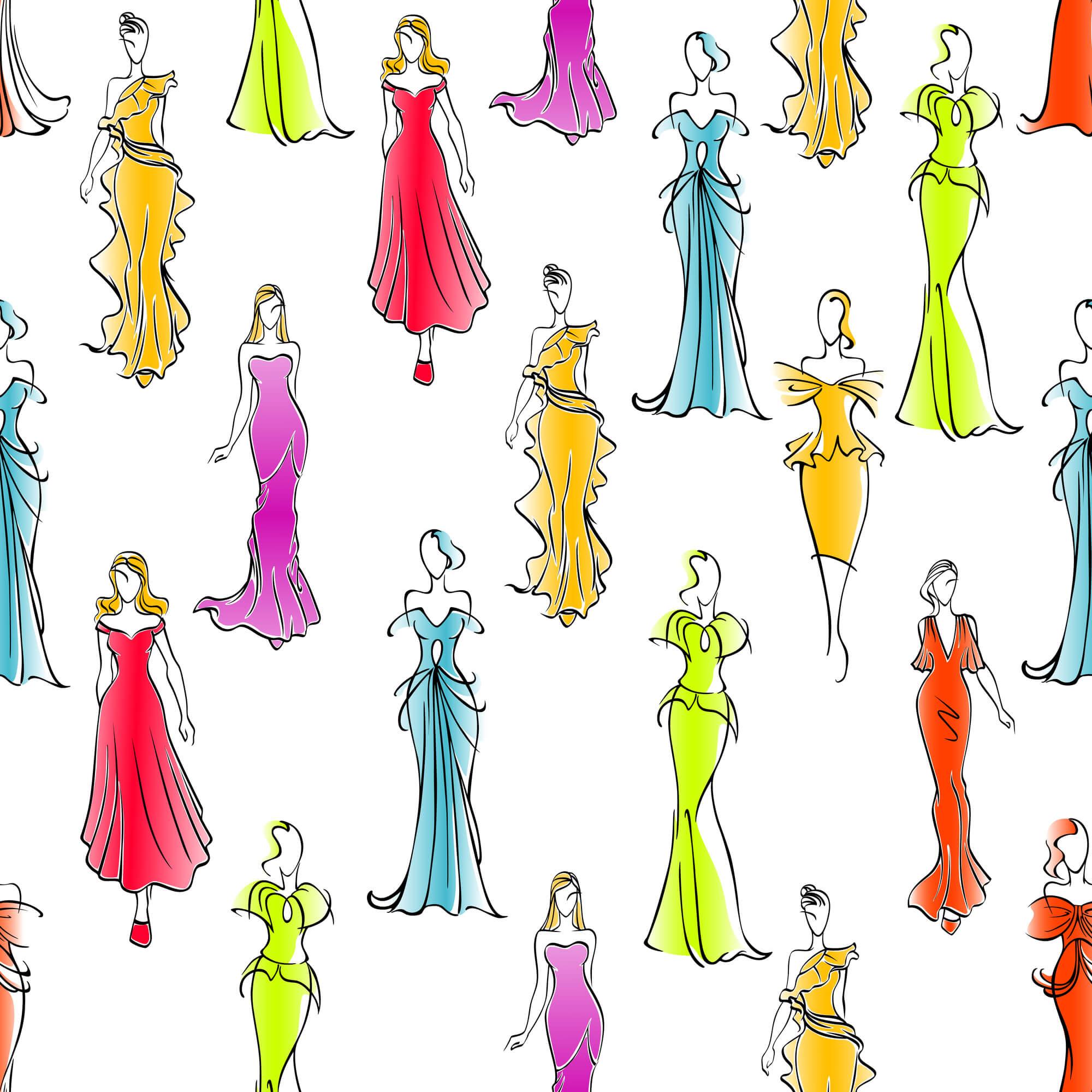【カラー別】人気のレンタルドレス
