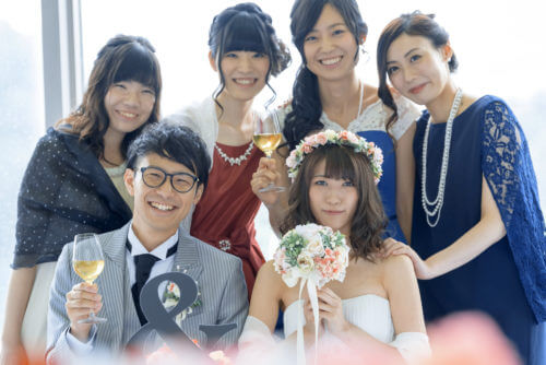 """結婚式二次会の服装""""可愛い!綺麗!""""はドレスレンタルで完成♪"""