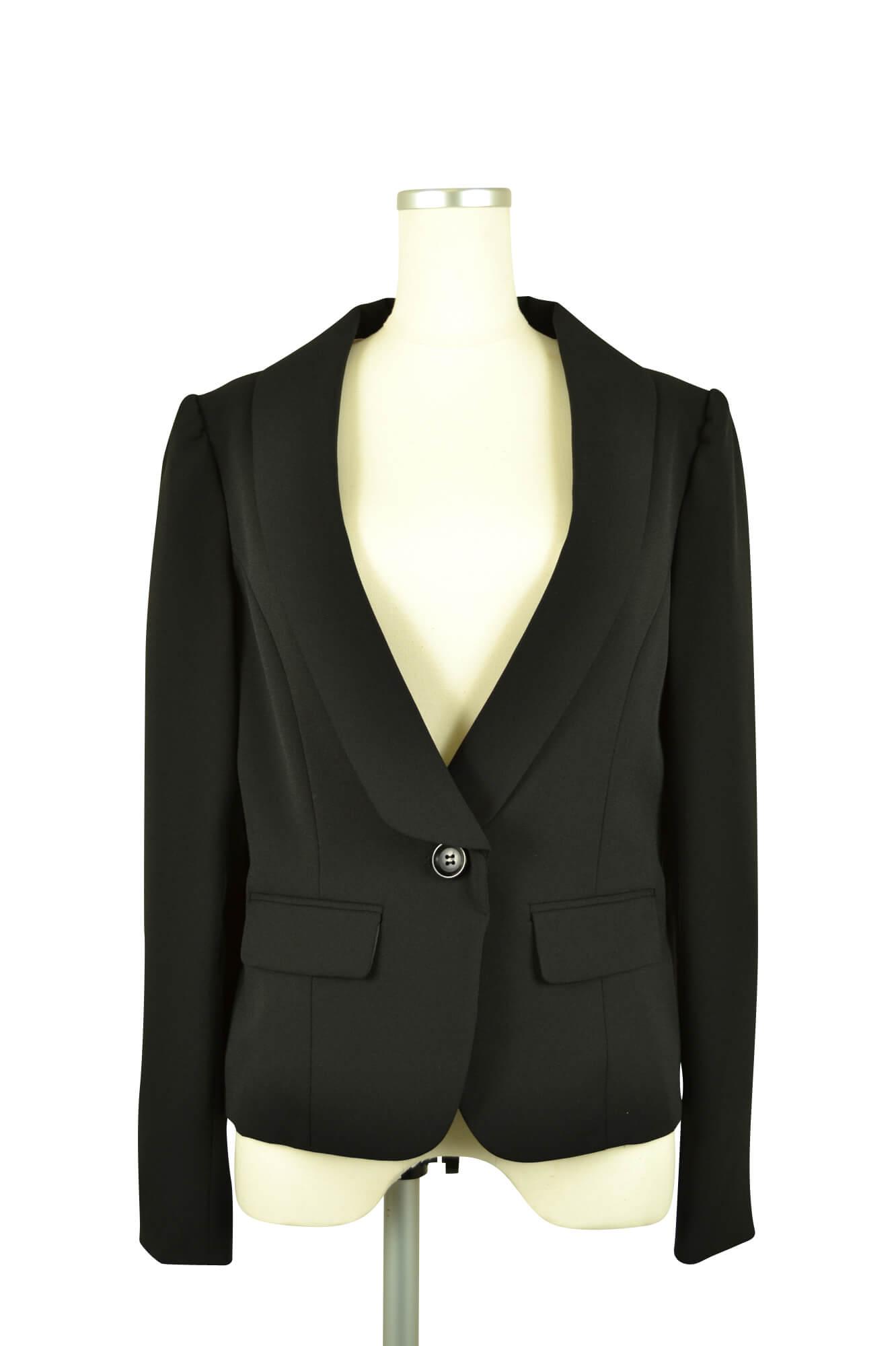 リプリート (REPLETE)長袖ブラックジャケット
