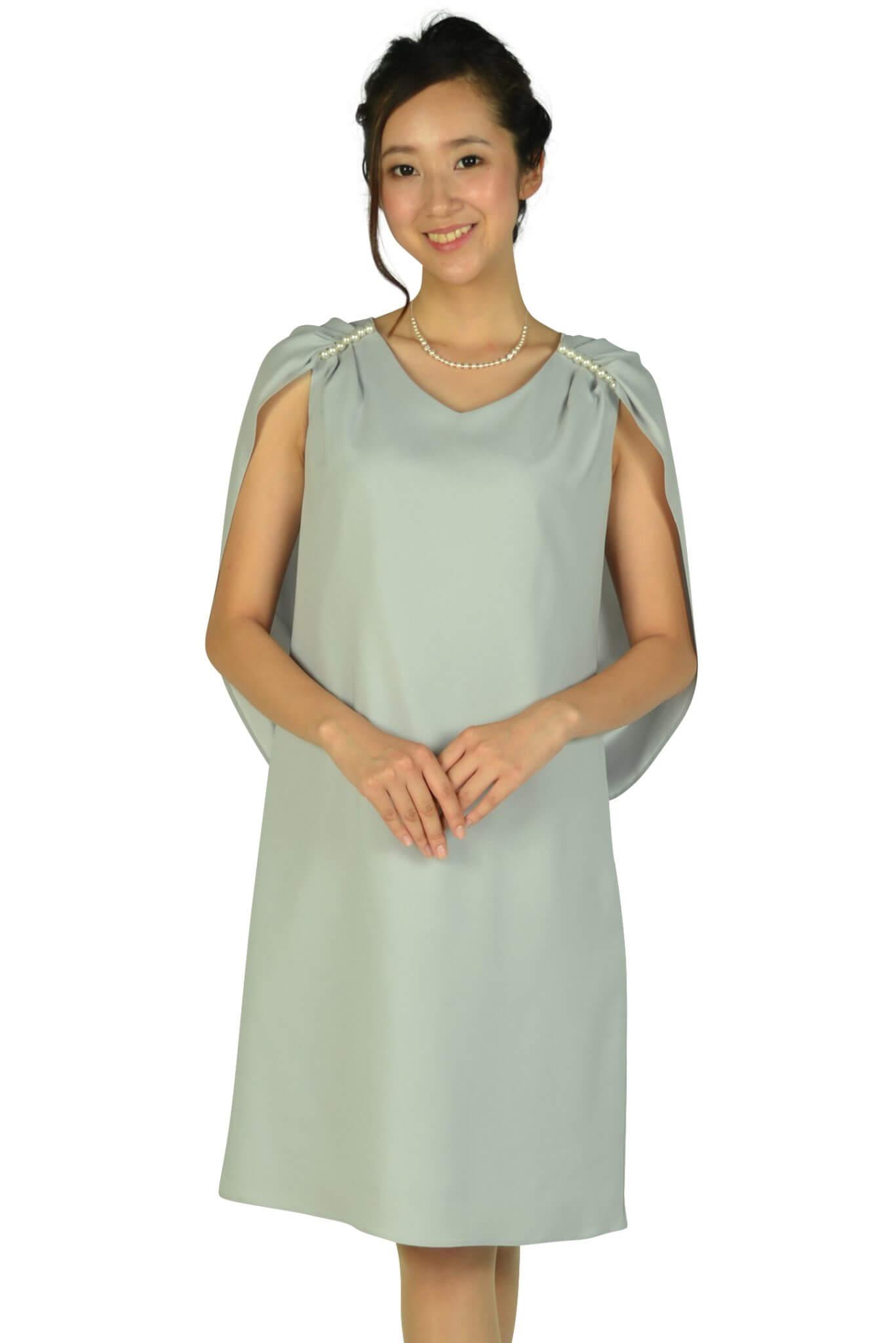 ケティ (ketty)肩パールケープグレードレス