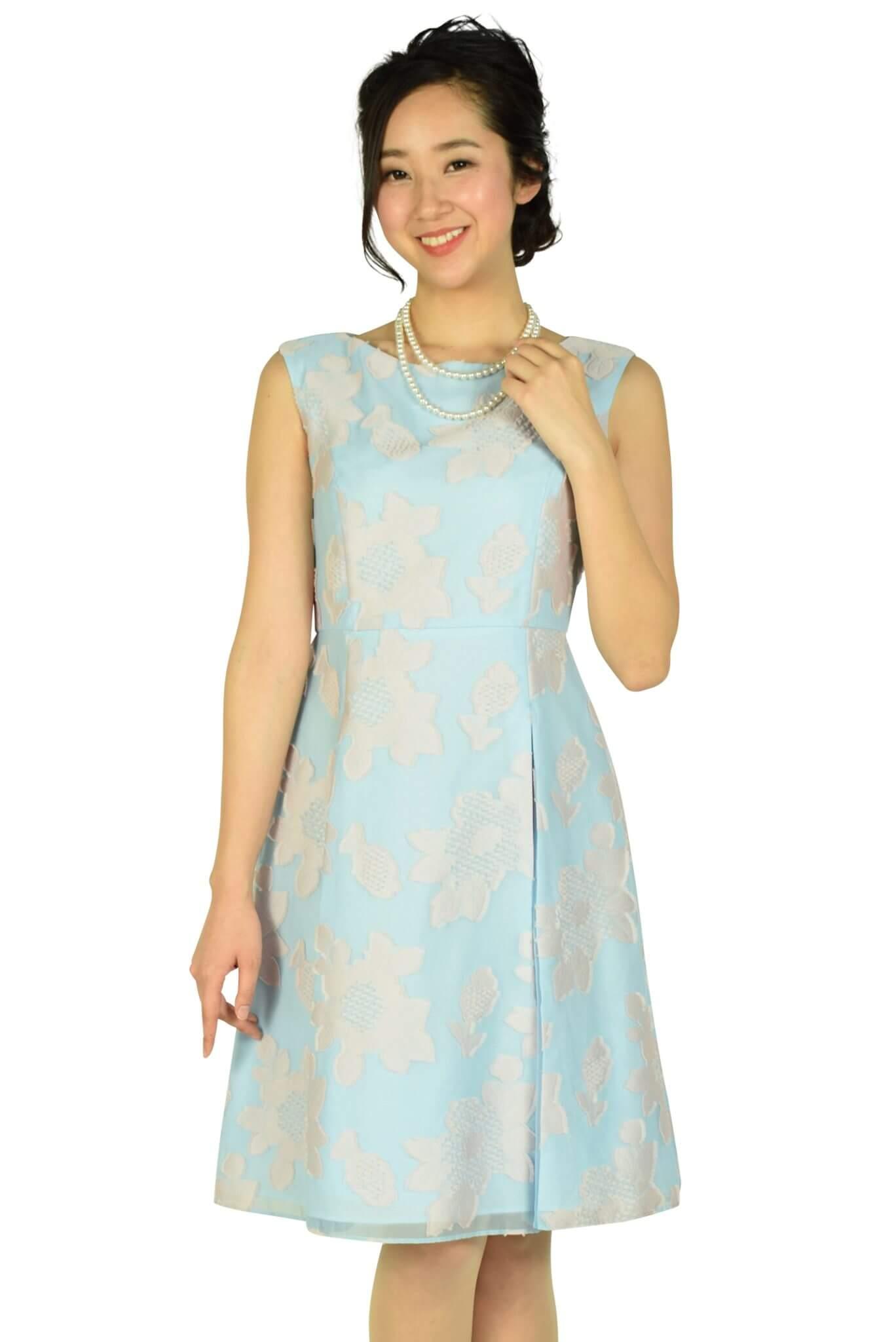 トッカ (TOCCA)フラワーサックスドレス