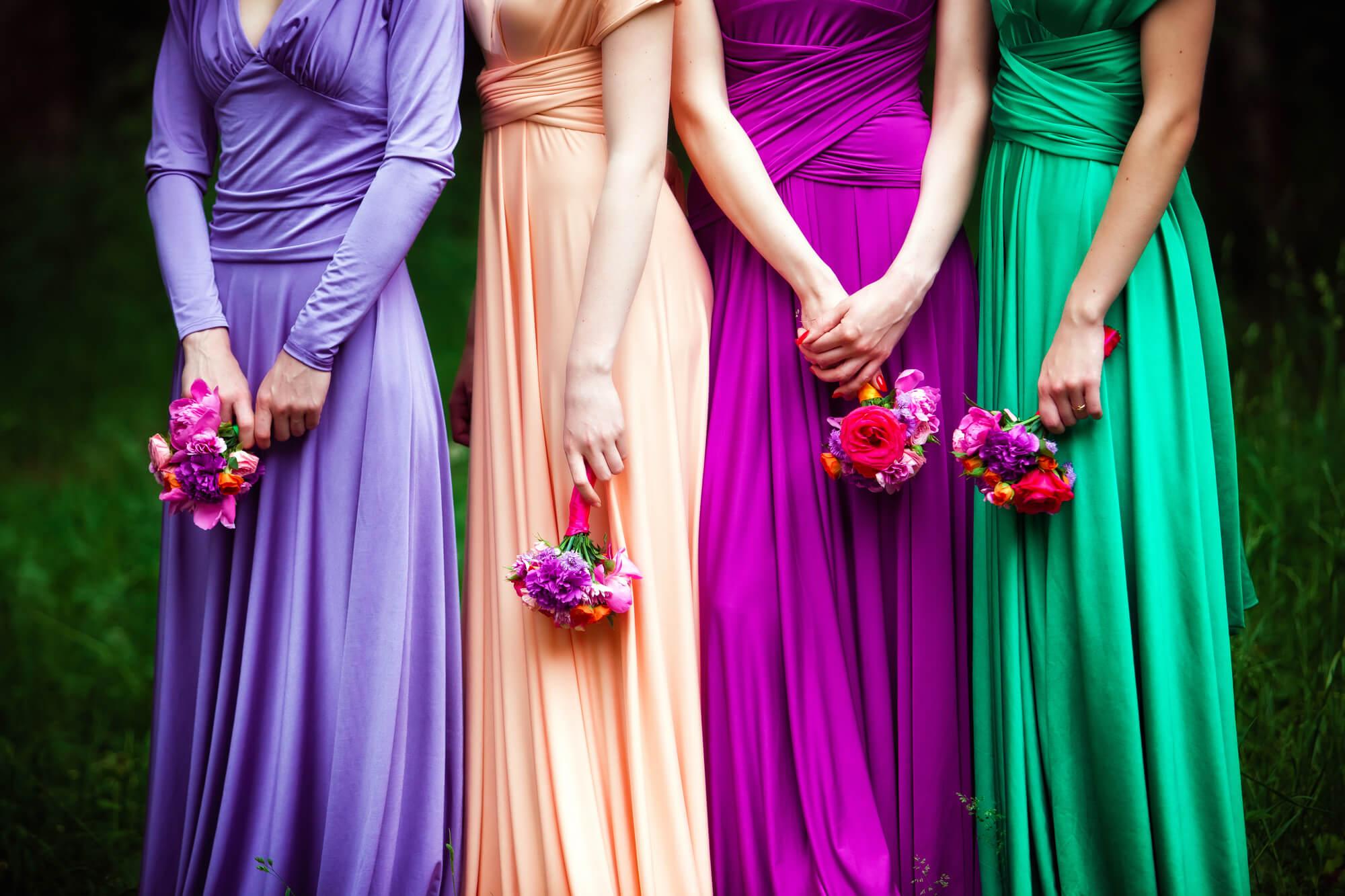 ブライズメイドのレンタルドレス